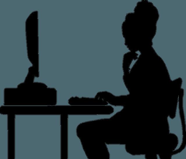 programmer, computer, woman