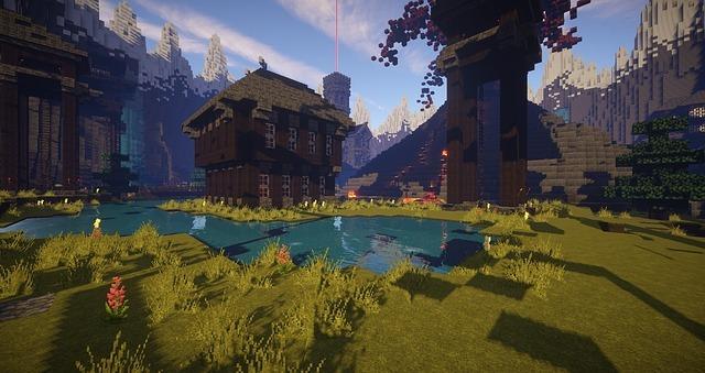 minecraft, video game, blocks