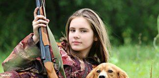hunter-girl-dog